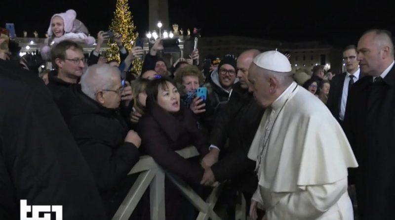 Papa Francesco perde la pazienza