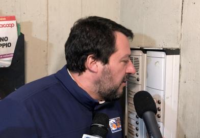 Matteo Salvini al Pilastro