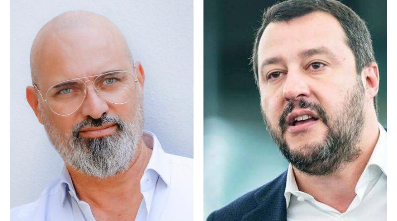 Stefano Bonaccini e Matteo Salvini