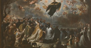 Saint Augustine vanquishing the Plague