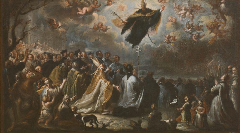 Saint Augustine vanquishing the Plague