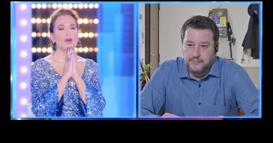 Salvini preghiera