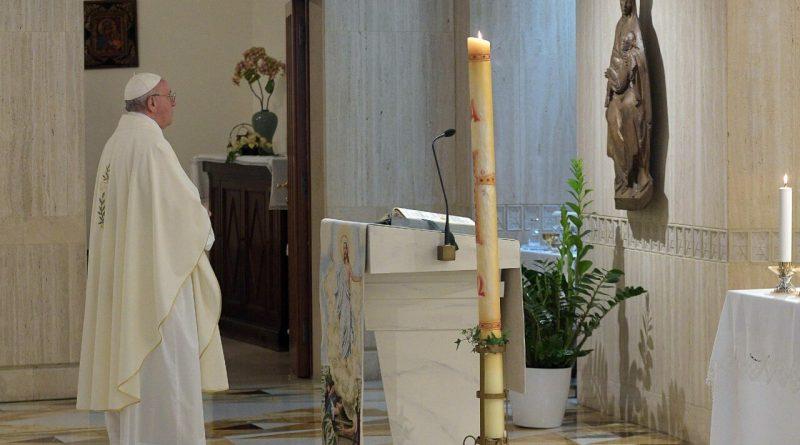 Francesco ha concluso la «scuola di preghiera»