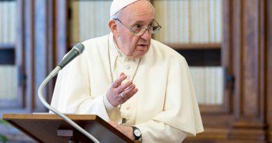 Un videomessaggio di papa Francesco