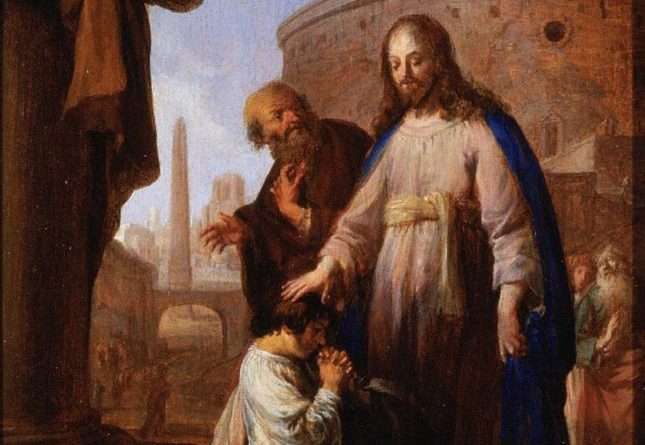 Christ and the Rich Youth